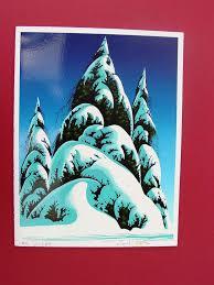eyvind earle christmas cards 38 best eyvind earle christmas cards images on