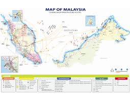 Map Of Malaysia Mida Malaysian Investment Development Authority