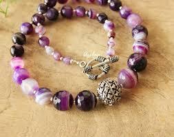 gemstone necklace sets images Purple necklace and earring sets designer gemstone necklace at jpg