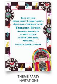 theme invitations theme party invitations cimvitation