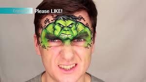 incredible hulk u2014 marvel face painting u0026 makeup for kids level 1