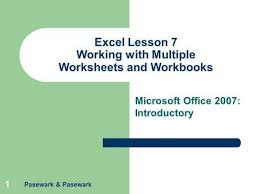 excel lesson 1 excel basics ppt download