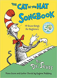 the cat in the hat songbook 9780394816951 dr seuss