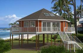 images of narrow lot beach house plans on pilings all about house