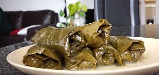 recette de cuisine sans viande dolmades feuilles de vigne farcies sans viande