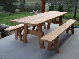 Build A Picnic Table Cost by Furniture Farmhouse Outdoor Furniture Style With Lowes Picnic