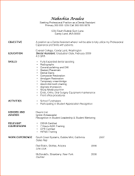 dental assistant resume templates dental assistant resume template resume template free resume