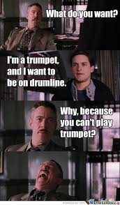 Trumpet Player Memes - all the crappy trumpet players by jimboswagger meme center