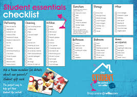 Bathroom Necessities Checklist Student Life Sorted U2013 Packing And Storage Ideas Wilkolife