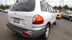 2001 2004 2005 hyundai santa fe car service auto repair workshop
