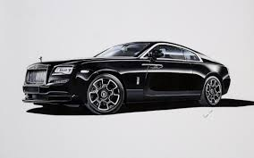 rolls royce badge rolls royce wraith black badge drawing vinayak umesh draw to drive
