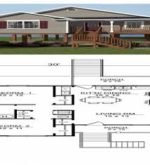 elevated house plans beach house home design