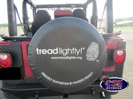 tread lightly jeep wrangler discount tread lightly logo spare tire covers fits jeeps
