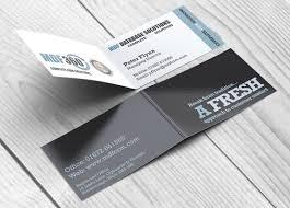 folded business cards templates memberpro co