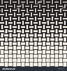 vector seamless geometric pattern halftone gradient stock vector