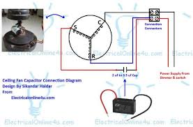 exhaust fan capacitor wiring diagram wiring diagram