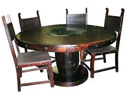 rustic solid wood dining table solid wood round table rustic wood dining room furniture in rustic