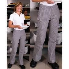 pantalon cuisine femme pantalon de boulanger 46 comparer les prix sur choozen fr publicité