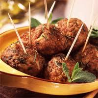 recette cuisine orientale boulettes de viande épicées recette libanaise facile recettes