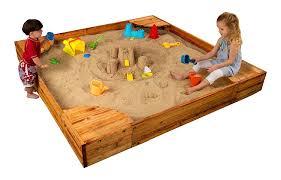 outdoor kidkraft backyard sandboxes toys with corner seats for