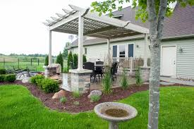 How To Build A Covered Pergola by Landscape Design U0026 Installation Archives R U0026d Landscape