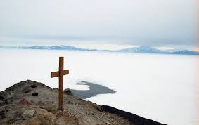 Cross On - observation hill mcmurdo station