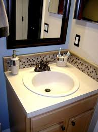 bathroom sink backsplash ideas bathroom sink backsplash ideas bathroom metal