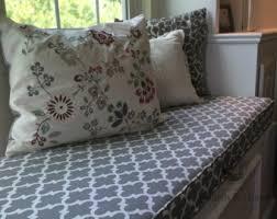 custom window seat cushion bench cushion with cording