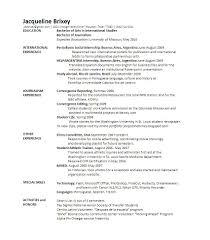 Journalist Resume Sample by Resume Economics Major Resume
