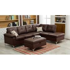 Sectional Sofa With Storage Barnet Sectional Sofa And Storage Ottoman Set
