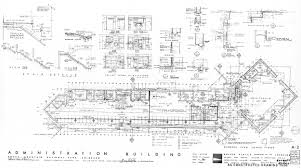 Colorado Convention Center Floor Plan by National Park Service Mission 66 Visitor Centers Chapter 5