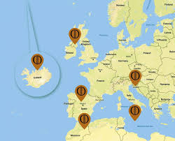 us map of thrones the complete of thrones filming locations guide by fangirl quest