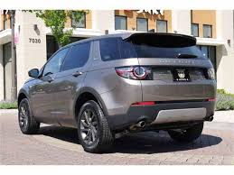 2017 land rover discovery sport trunk 2017 land rover discovery sport for sale classiccars com cc 982337