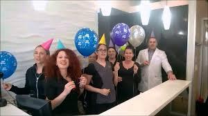 i g clair it s the happy birthday clown happy birthday from west dental clinic