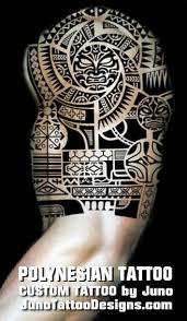 collection of 25 black polynesian designs