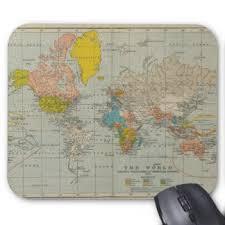 map pad map mouse pads zazzle