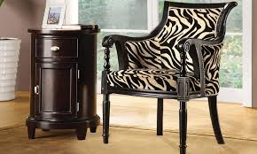 Barrel Accent Chair Rayas Barrel Accent Chair Groupon Goods