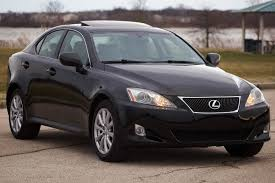 lexus sedan 2007 2007 lexus is 250 awd carfax certified navigation ventilated seats