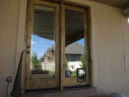 clear glass door door pet door idea in clear glass combined with white door