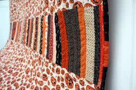 Halloween Print Fabric by Scrappy Modern Halloween Quilt