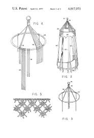 patent us4017071 macrame swing and method of forming google