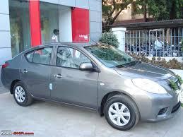 nissan sunny white bronze grey nissan sunny diesel 6 month 5000 km update team bhp