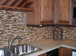 Kitchen Backsplash Tiles Glass Glass Tile Kitchen Backsplash Designs Cheap Brown Tiles Glass
