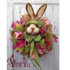 Easter Bunny Tree Decorations by Diy Bunny Wreath Tutorial Trendy Tree Blog Holiday Decor