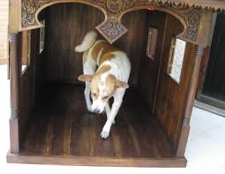 house dogs hand carved traditional thai house for pets cats and dogs