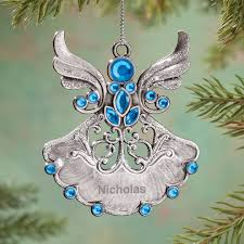 birthstone ornaments personalized birthstone angel pewter ornament kimball