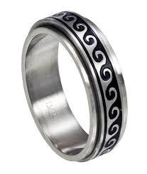 spinner rings antiqued wave spinner ring jss0121
