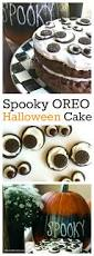 spooky oreo halloween cake recipe for a halloween party