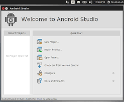 android studio linux android development program android studio for ubuntu linux mint