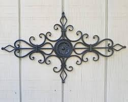 Iron Wrought Wall Decor Wrought Iron Decor Etsy